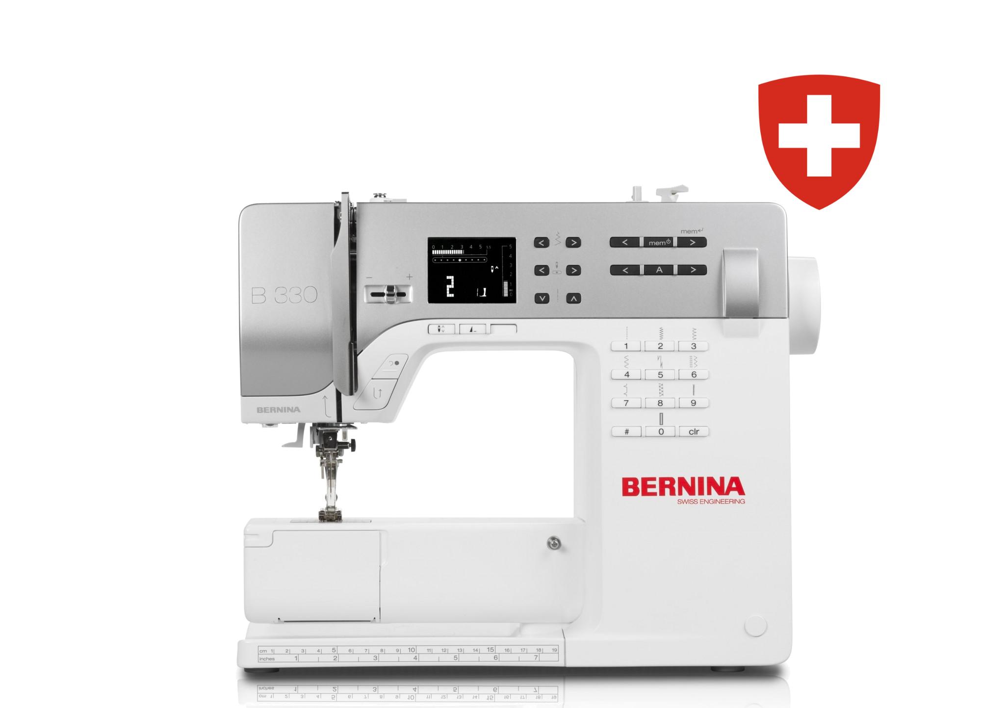 Kompiuterizuota siuvimo mašina BERNINA 330