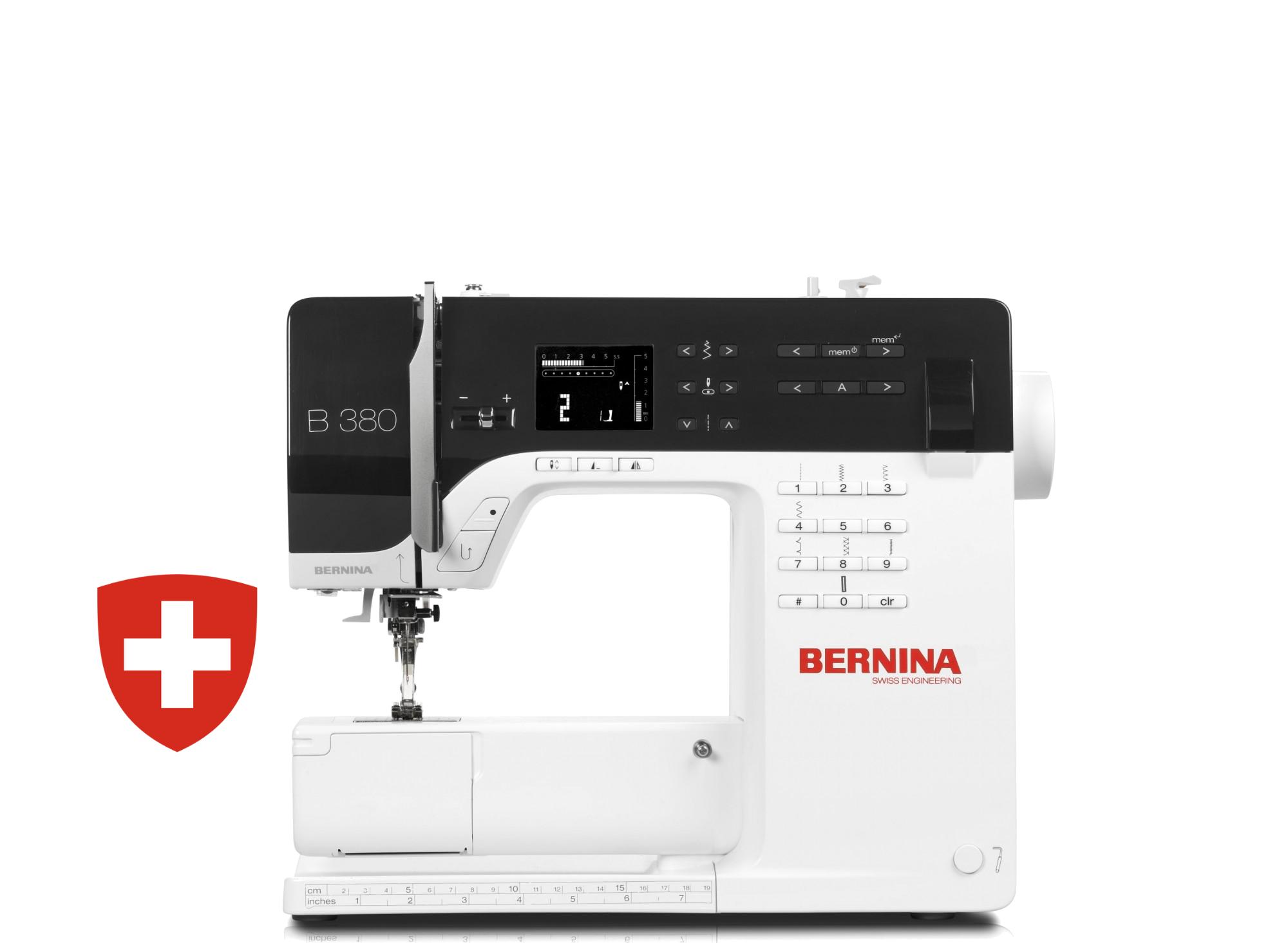 Kompiuterizuota siuvimo mašina BERNINA 380