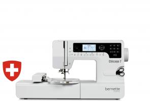 Kompiuterizuota siuvimo-siuvinėjimo mašina Bernette Chicago 7
