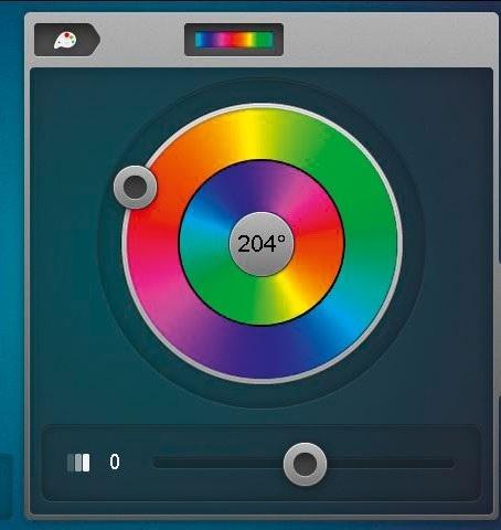 880 spalvu ratas