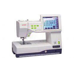 Kompiuterizuota siuvimo-siuvinėjimo mašina Janome MC11000