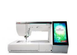 Kompiuterizuota siuvimo-siuvinėjimo mašina Janome MC15000