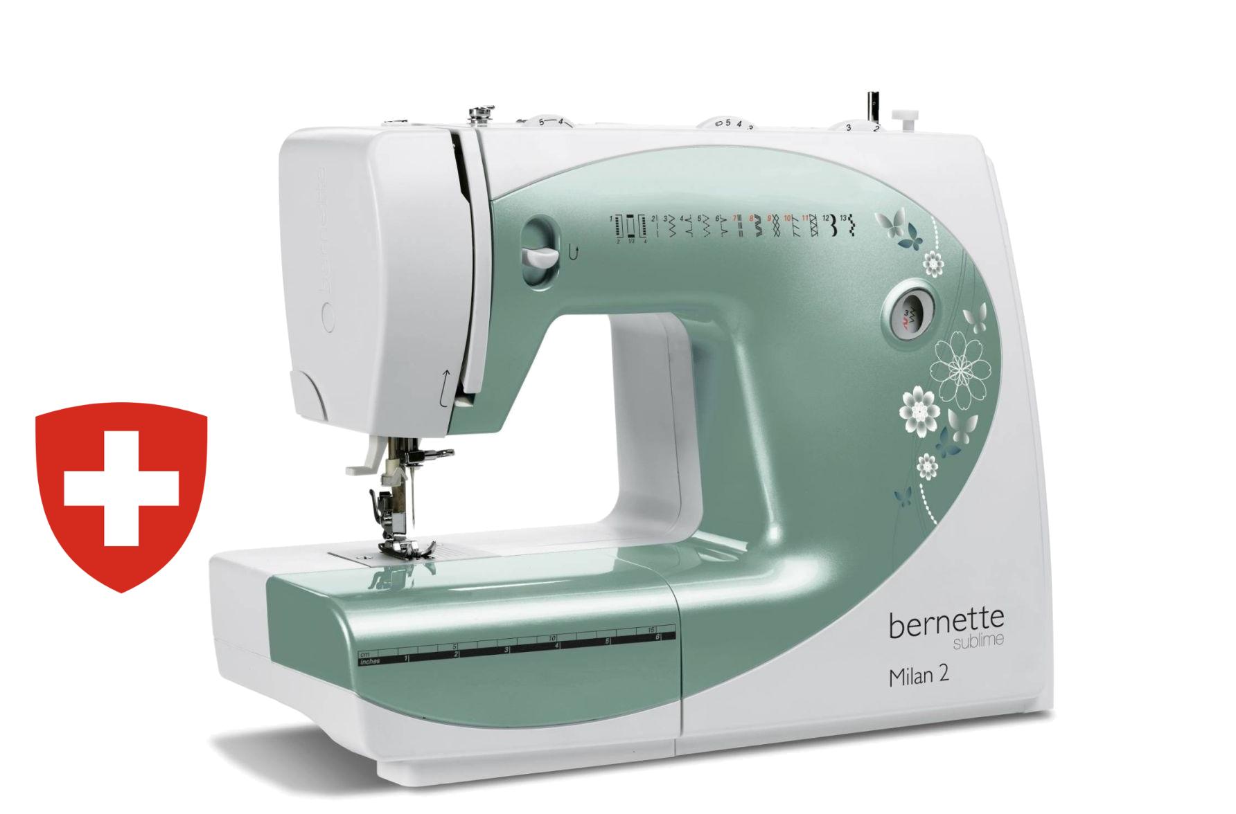 Siuvimo mašina Bernette Milan 2 (E55)