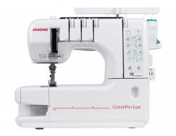 Grandininio dygsnio siuvimo mašina (plokščiasiūlė) Janome CoverPro LUX