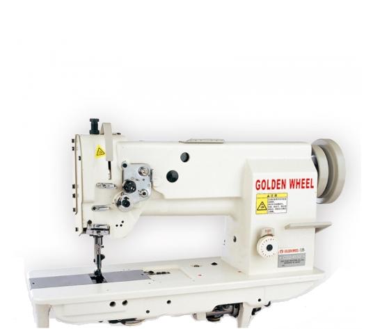 Golden Wheel CSU-4150-BFT mašina sunk. audiniams su trigubu transp. ir automatika