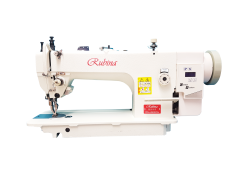 Rubina RB0318-1D industrial lockstitch machine for heavy fabrics with double feed