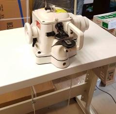 RUBINA  RB-202D kailių siuvimo mašina su integruotu servo varikliu ir adatos pozicionavimu