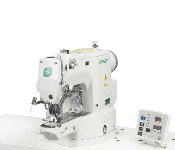 SUPREME CSM-430GA-01/02 įtvirčių mašina su automatika