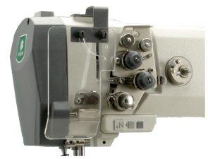 ZOJE ZJ9620-D3/PF dviadatė pram. mašina sunkiems aud. su voleliu ir adatos transpor.