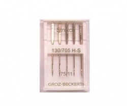 Trikotažinės adatos GROZ-BECKERT (5 vnt. NM75)