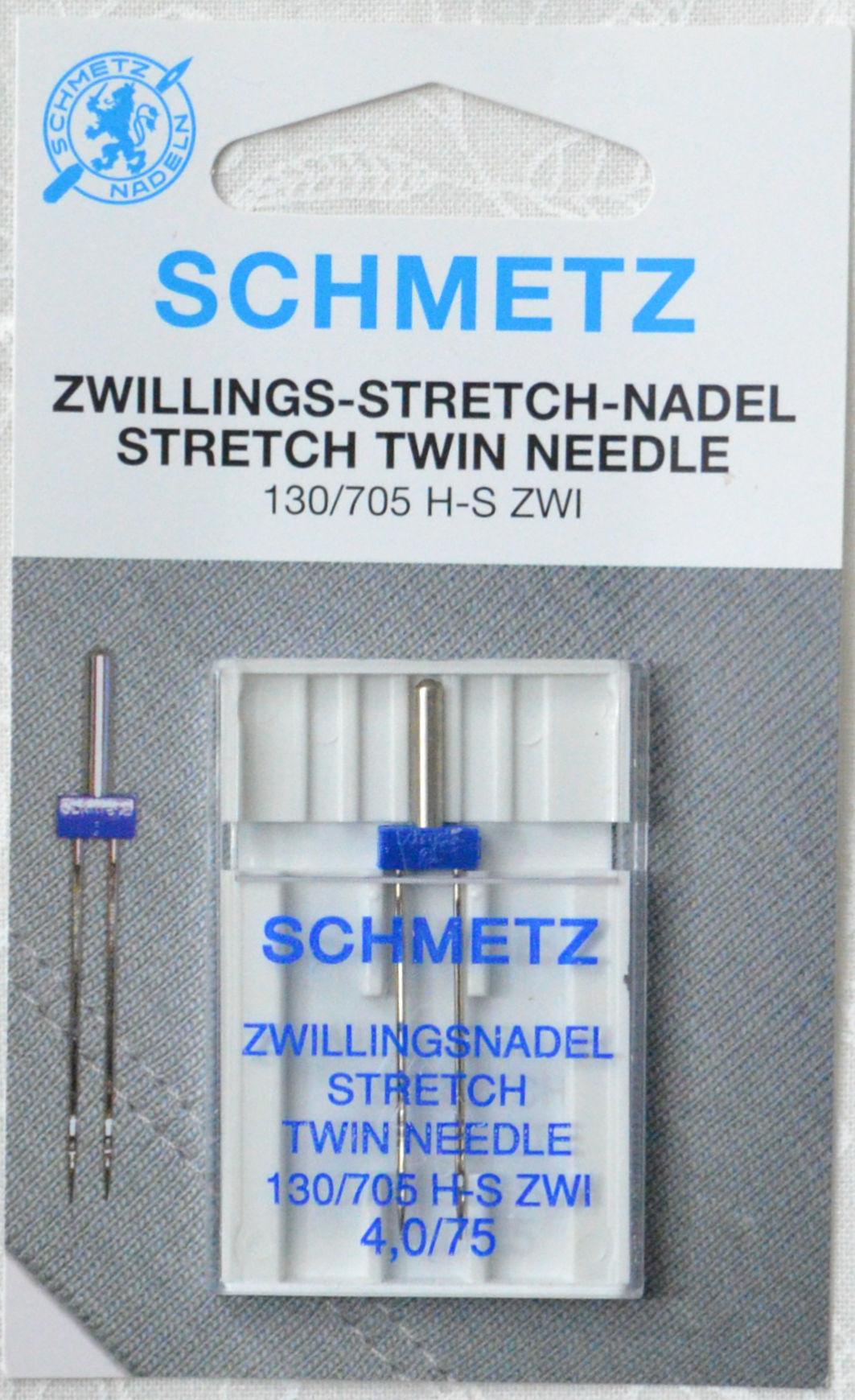 Dviguba adata (trikotažui) Schmetz (4.0/NM75)