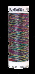 Melanžiniai siuvinėjimo siūlai Mettler Poly Sheen Multi (spalva 9916)