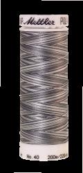 Melanžiniai siuvinėjimo siūlai Mettler Poly Sheen Multi (spalva 9920)