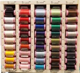 Siuvimo siūlai Amann ASPO (visos spalvos kortelėje)