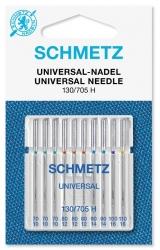 Skirtingų storių adatos SCHMETZ (rinkinys 10 vnt.)