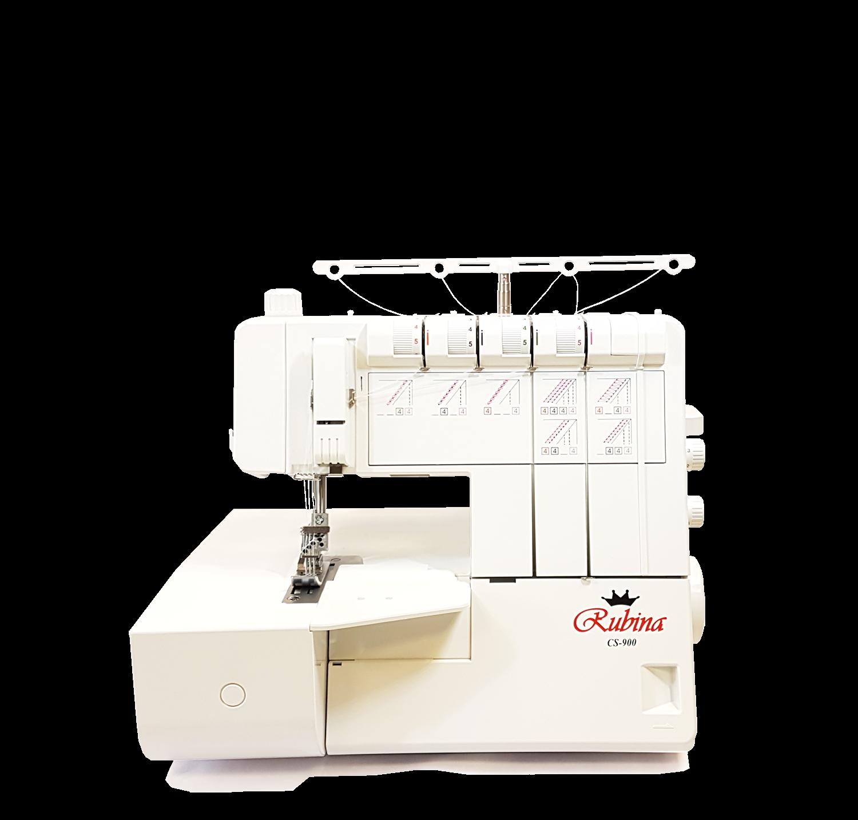 Grandininio dygsnio siuvimo mašina (plokščiasiūlė) Rubina CS-900