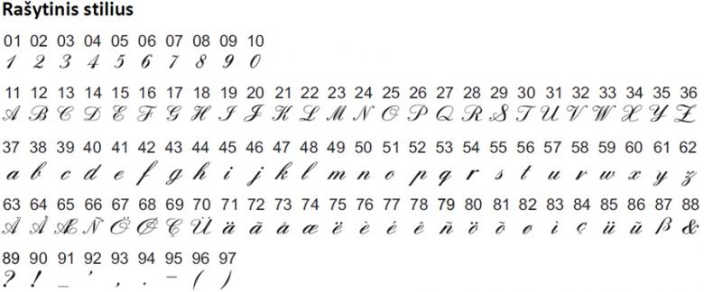Rubina H74A_dygsniai_abecele2
