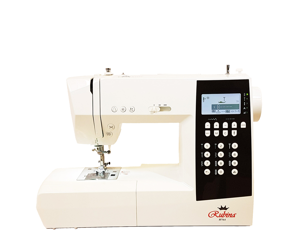 Computerized sewing machine Rubina H74A