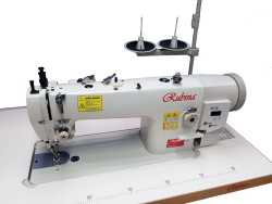 RUBINA RB-0617D industrial lockstitch machine for heavy fabrics with triple/unison-feed