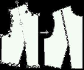Fittingly Sew 2 konstravimo programa iškarpoms