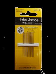 Rankinės siuvimo adatos JJ13504