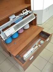 Transformuojamas stalas Comfort NN  mezgimo mašinai Silver Reed, Brother 5 klasė