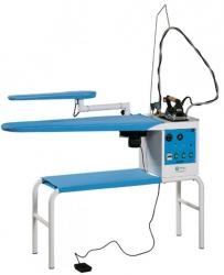 Battistella Vulcano Blowing Консольный утюжильный стол с парогенератором и утюгом