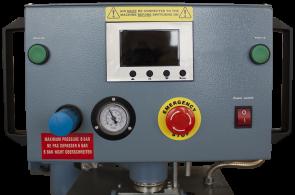 Dvigubas pneumatinis termopresas su valdymo pultu Adkins Omega 1000