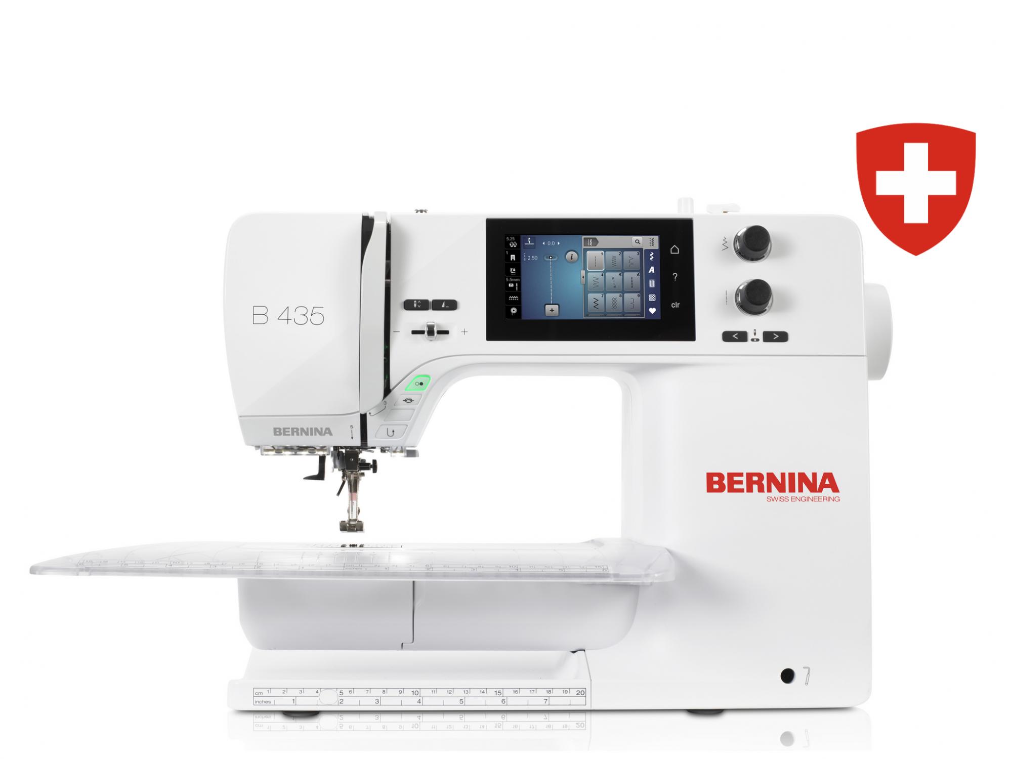 Kompiuterizuota siuvimo mašina BERNINA 435
