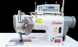 Dviadatės tiesiasiūlės siuvimo mašinos