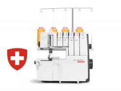 Krašto apmėtymo ir grandininio dygsnio siuvimo mašina bernette b48