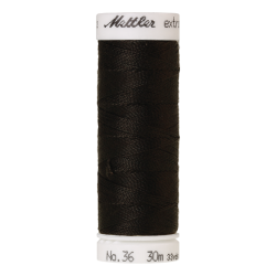 Stiprūs siūlai Mettler Extra Strong (spalva 4000, juoda)