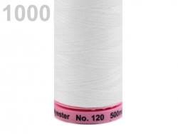 Siuvimo siūlai Amann ASPO (spalva 1000, pieno)
