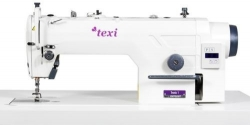 TEXI TRONIC ONE PREMIUM pramoninė tiesiasiūlė siuvimo mašina su integruotu servo varikliu ir adatos pozicionavimu