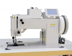 Dviejų adatų dekoratyvinės siūlės siuvimo mašina Rubina RB-266-102D
