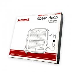 Lankelis siuvinėjimui SQ14b Janome MC500E, MC550E (14 cm x 14 cm)
