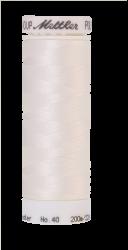 Siuvinėjimo siūlai Poly Sheen (spalva 0015, balta)