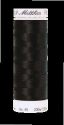 Siuvinėjimo siūlai Poly Sheen (spalva 0020, juoda)