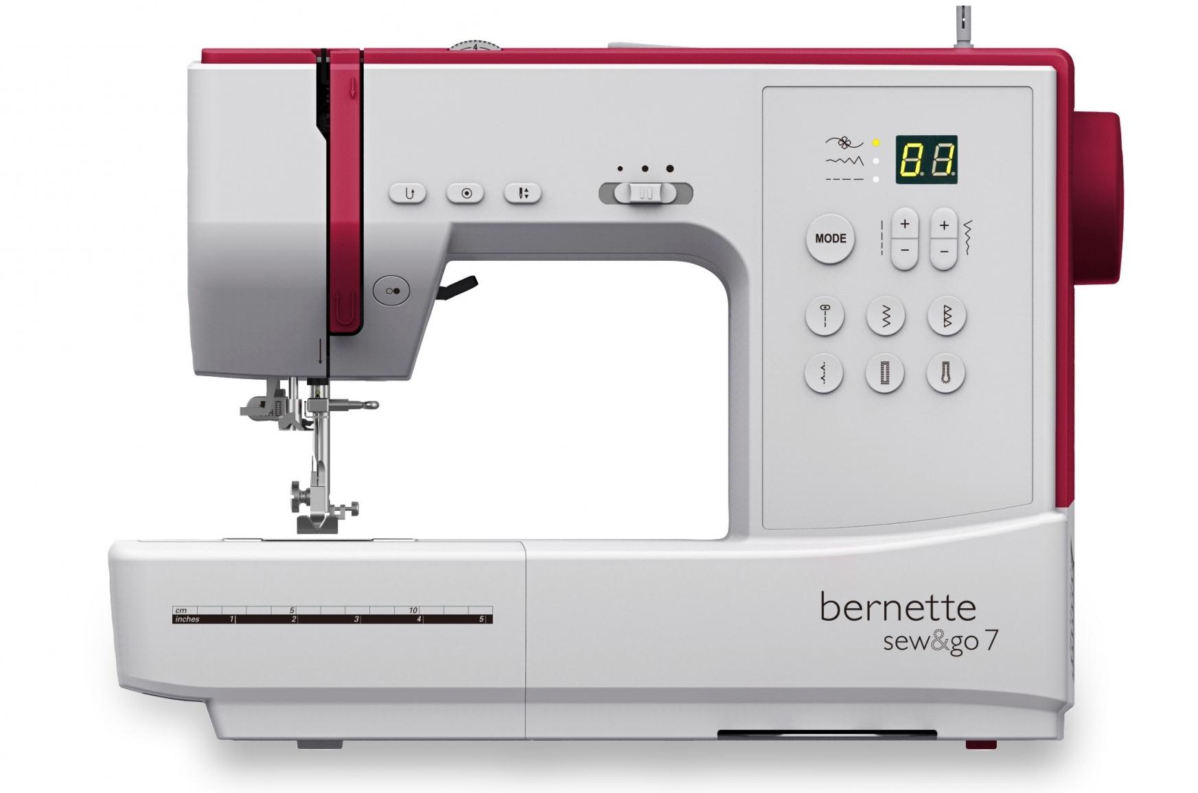 Kompiuterizuota siuvimo mašina bernette Sew and Go 7