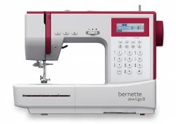 Kompiuterizuota siuvimo mašina bernette Sew&Go 8