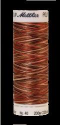 Melanžiniai siuvinėjimo siūlai Mettler Poly Sheen Multi (spalva 9302)