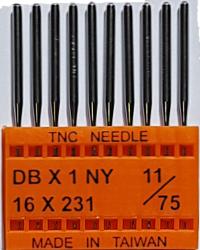 DBx1 NM75 (universalios) adatos pramoninei siuvimo mašinai TRIUMPH (10 vnt.)