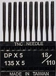 DPx5 NM110 (universalios) adatos pramoninei siuvimo mašinai TRIUMPH (10 vnt.)