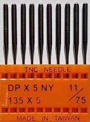 DPx5 NM75 (universalios) adatos pramoninei siuvimo mašinai TRIUMPH (10 vnt.)