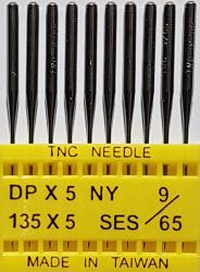 DPx5 SES NM65 (trikotažui) adatos pramoninei siuvimo mašinai TRIUMPH (10 vnt.)