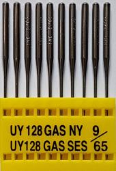 UY128GAS SES NM65 (trikotažui) adatos pram. plokščiasiūlei (10 vnt.)