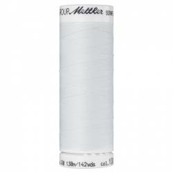 Elastiniai siuvimo siūlai SERAFLEX® (spalva 1000, pieno)