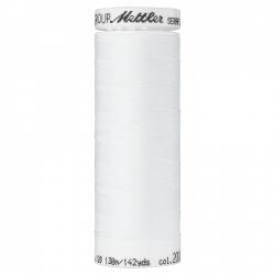 Elastiniai siuvimo siūlai SERAFLEX® (spalva 2000, balta)