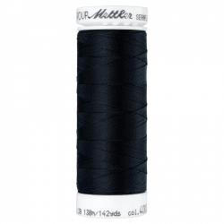Elastiniai siuvimo siūlai SERAFLEX® (spalva 4000, juoda)